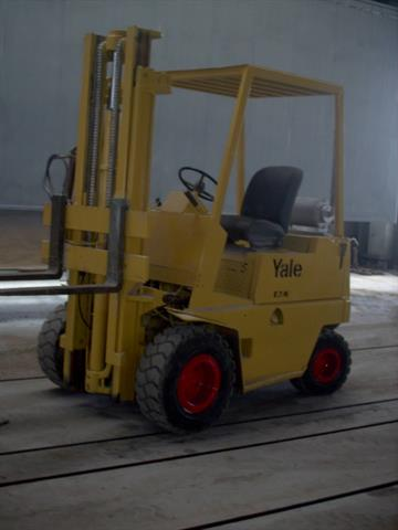 Yale extends its search for the oldest Forklift truck