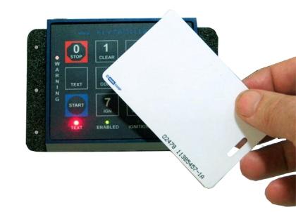KEYTROLLER'S START-SMART extremely rugged keypad ignition