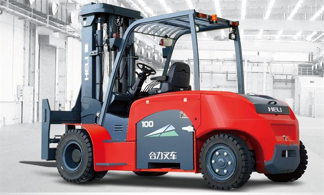 heli launches new heavy-duty electric forklift
