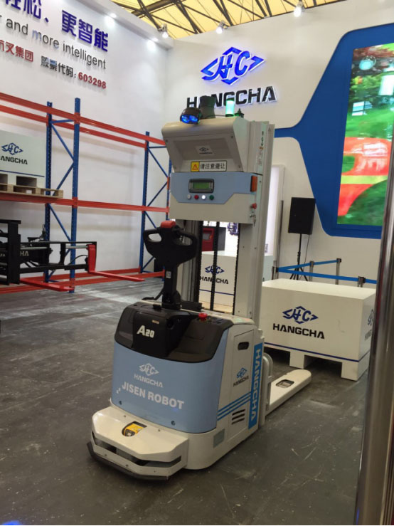 Hangcha Displays The New Look Of Made In China At Cemat