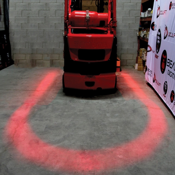 Meet the world's first LED Forklift Arch Safety Light ...