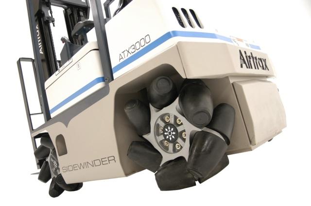 Vetex Now Manufacturing Airtrax Sidewinder Lift Truck