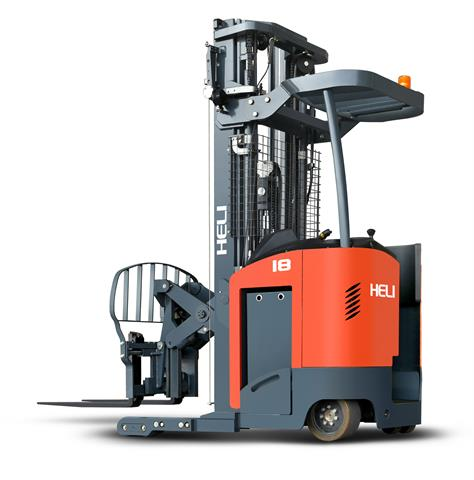 Warehouse Forklifts: HELI New 1 6-1 8t Pantograph Reach Truck