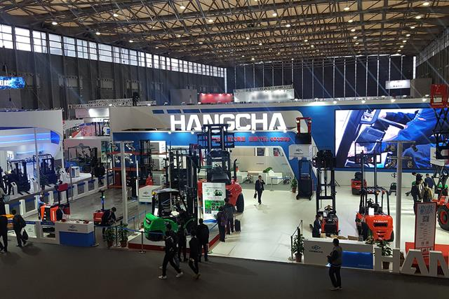 hangcha u0026 39 s new product launch conference at cemat asia 2018  u2013 advertorial