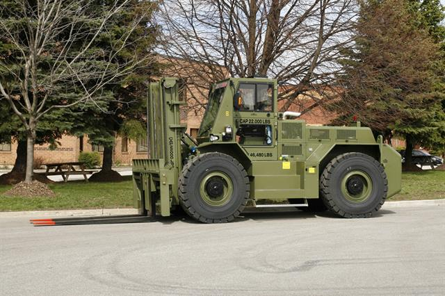Rough and tumble: rough-terrain forklifts and telehandlers