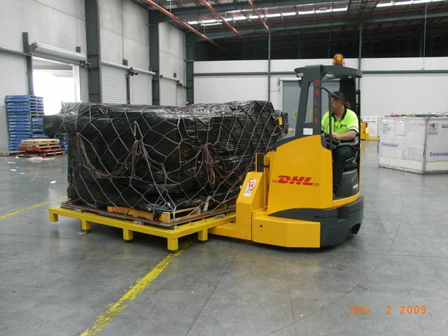 Ntp Provides Freight Solution To Dhl News Article