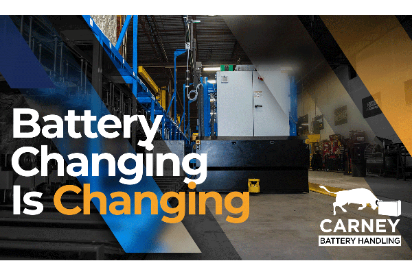 Battery room solutions from Carney Battery Handling