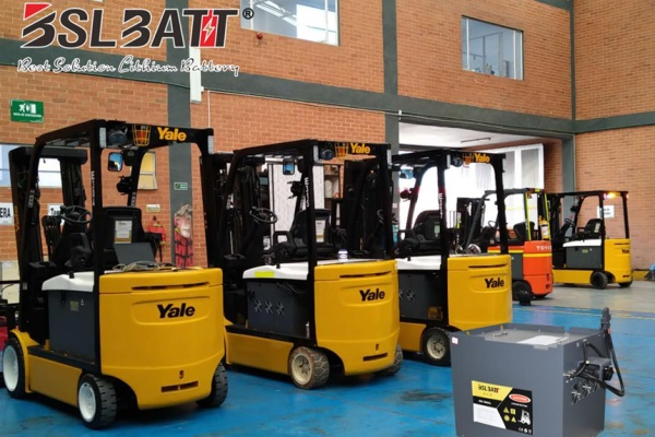 The best Lithium Forklift Batteries from BSLBATT