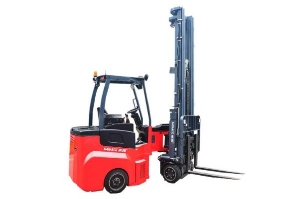 MiMA articulated MJ series narrow aisle forklifts