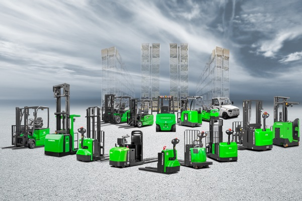 new lithium-ion powered models from Hangcha Forklift America