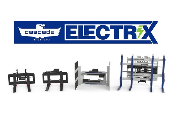 Cascade Electrix - electric attachments for AGV forklifts