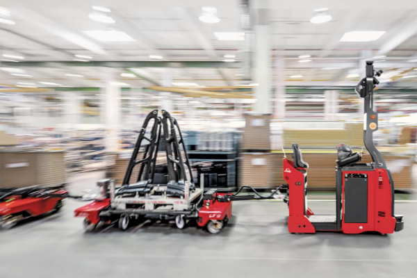 Automated logistics solutions from Linde Material Handling