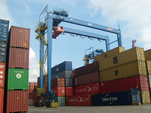 Rubber Tyred Gantry Cranes Translate : Mediterranean supply chain boosts handling capacity news