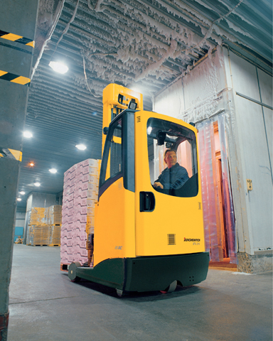 Forklifts Face Cold Harsh Reality Print