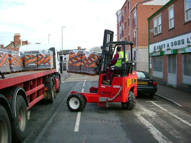 Truck Mounted Forklifts News Article