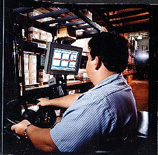 The Glacier Gx Series Of Forklift Computers Are Pc