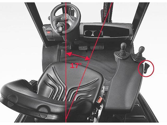 Toyota Forklift Swivel Seat