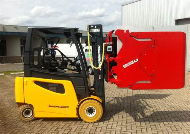 Clamp Forklift Controls : Intelligent appliance clamp i move handles your most